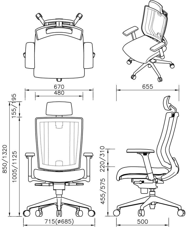 офисное кресло Falto Promax