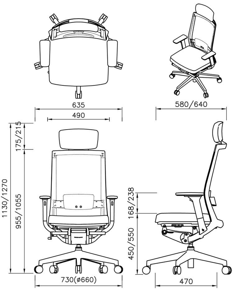 офисное кресло Falto A1