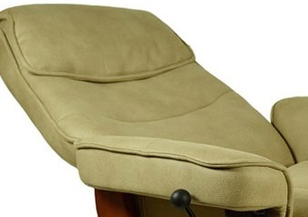 Кожаное кресло реклайнер Relax Rio спинка